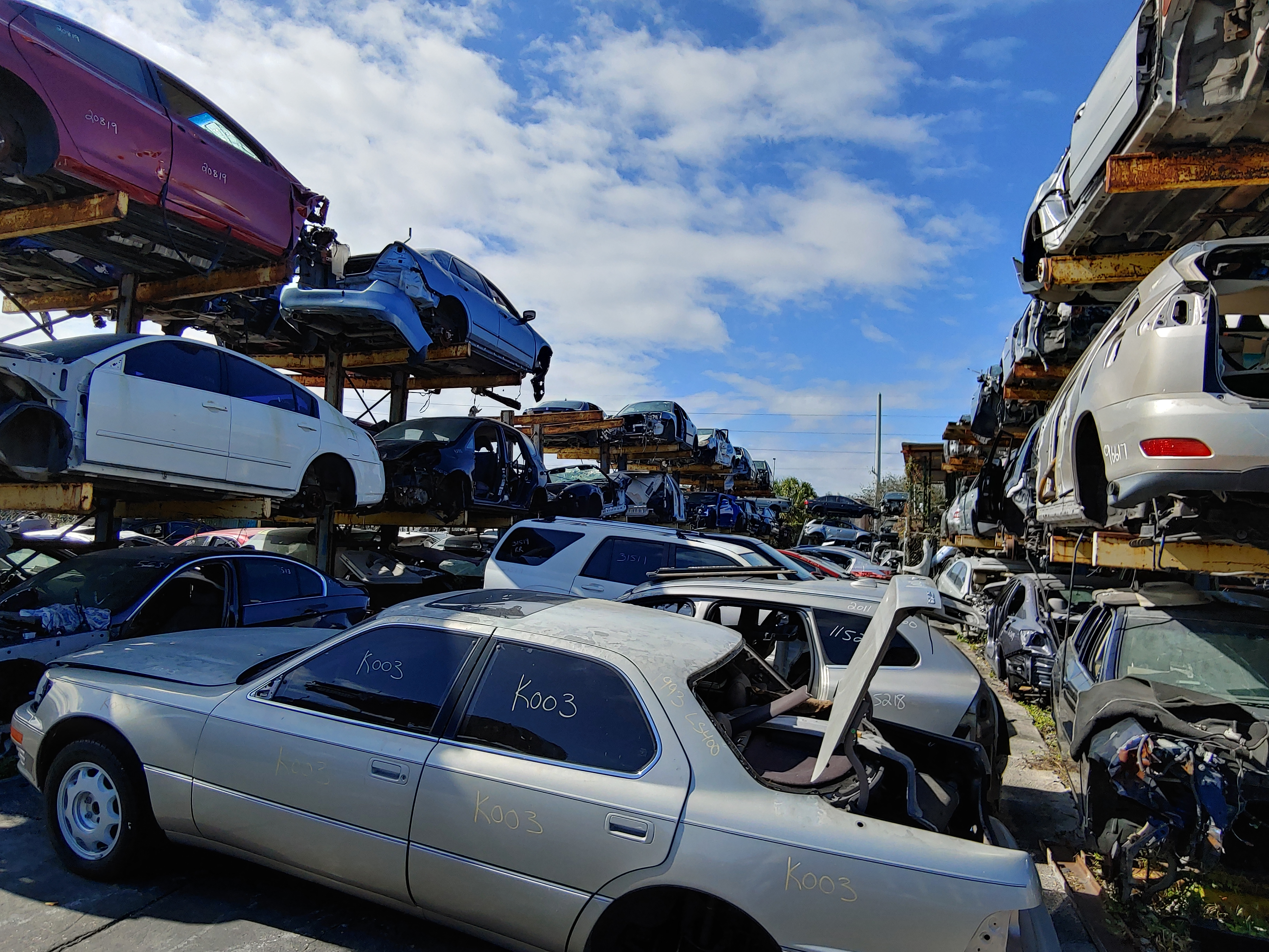 Junk Yards Near West Palm Beach Quality Used Car Parts Store Gardner Auto Parts